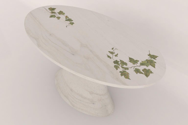 American Oval Ivy Dinig Table For Sale