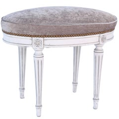 Oval Louis XVI Stool