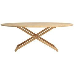 Oval Low Table