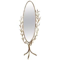 Oval Mirror by Banci