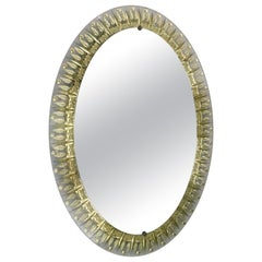 Oval Mirror by Cristal Art