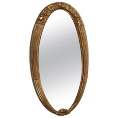 Oval Mirror by Süe & Mare, circa 1925