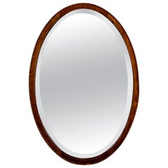 Oval Mirror from the Turn of the 19th and 20th Centuries