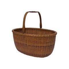 Oval Nantucket Lightship Basket