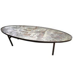 Oval Shaped Laverne Table