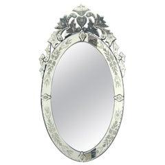 Oval Venetian Mirror