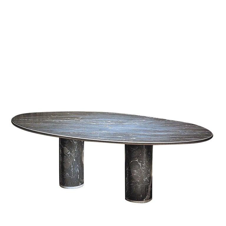 Mid-Century Modern Ovale del Giardiniere Table by Achille Castiglioni For Sale
