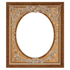Ovale Fiorito Frame