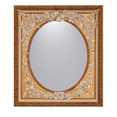 Ovale Fiorito Mirror