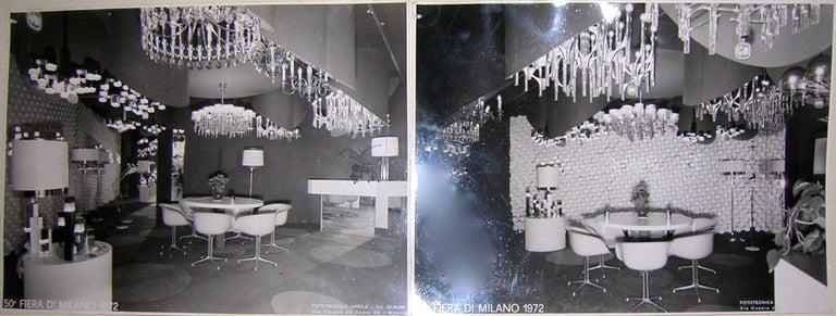 Ovali Chandelier by Angelo Gaetano Sciolari For Sale 9