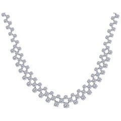 Over 49.00 Carat Diamond Necklace