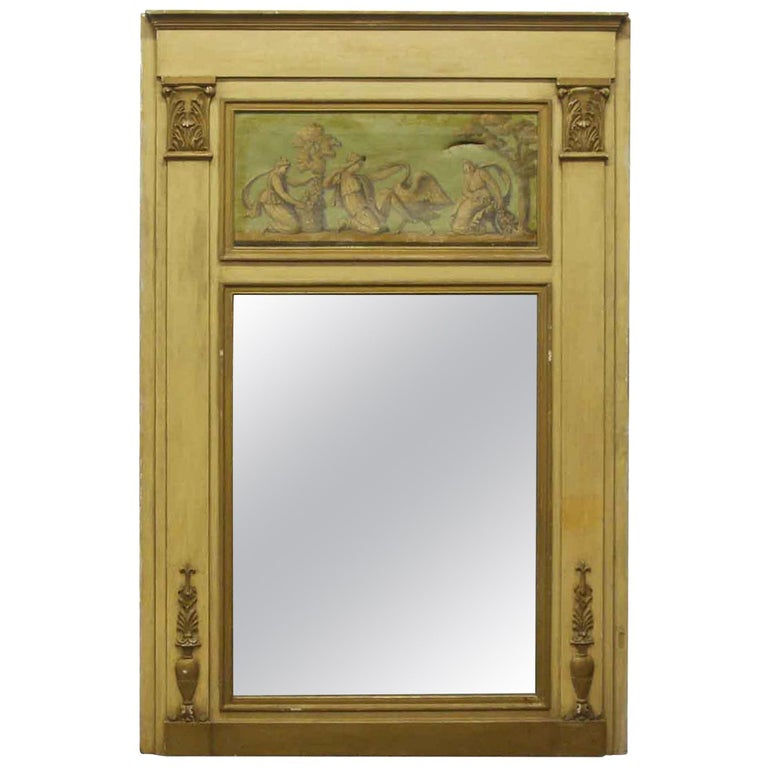 Over Mantel Mirror from the Waldorf Astoria, circa 1900 For Sale