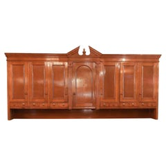 Over-Sized Oak Vestment Top Cabinet