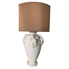 Over-Sized Plaster Figural Table Lamp