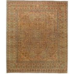 Oversized Vintage Persian Kirman Rug