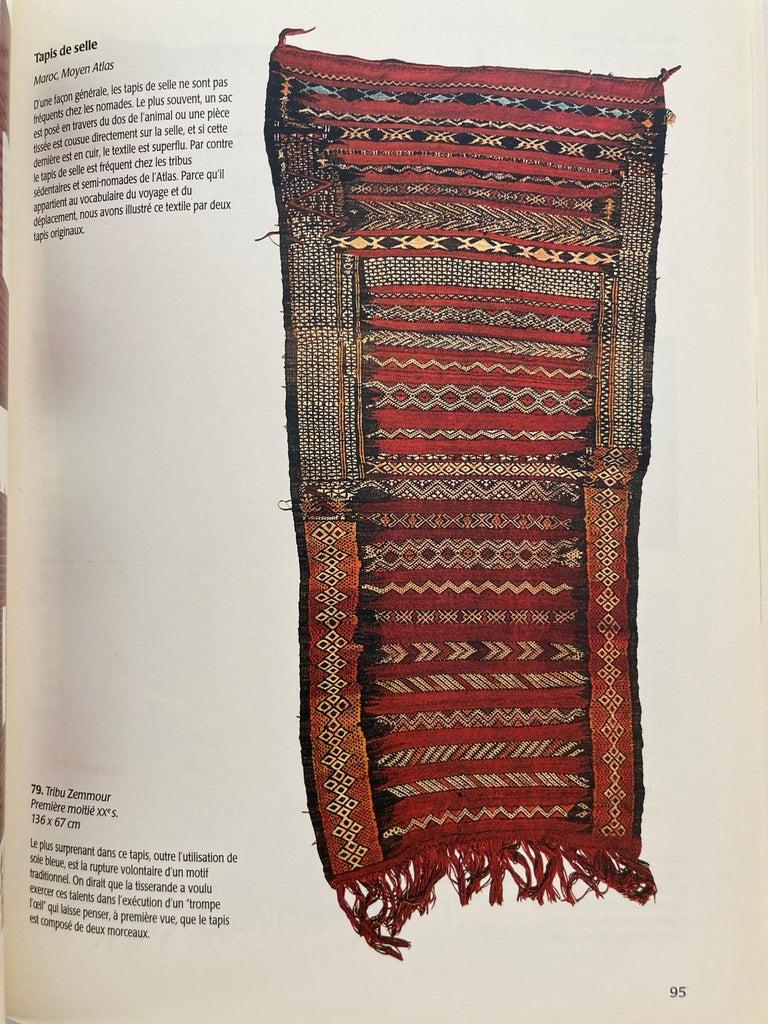 Over the Desert Au Fil du Désert Textiles from the Nomadic Desert Book For Sale 3