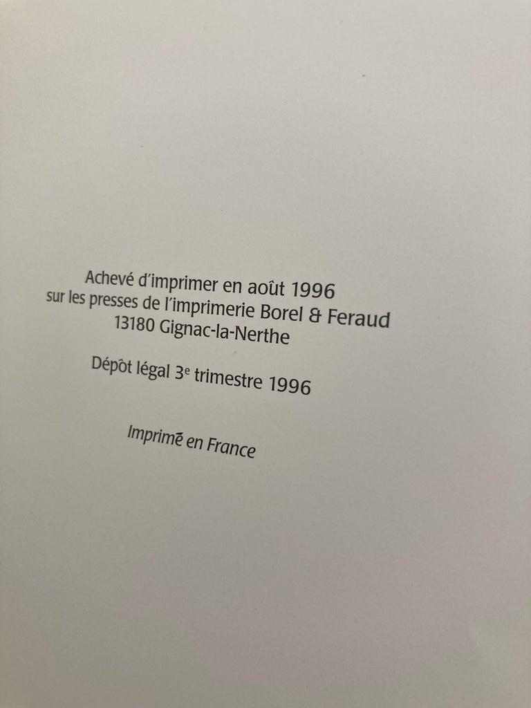Late 20th Century Over the Desert Au Fil du Désert Textiles from the Nomadic Desert Book For Sale