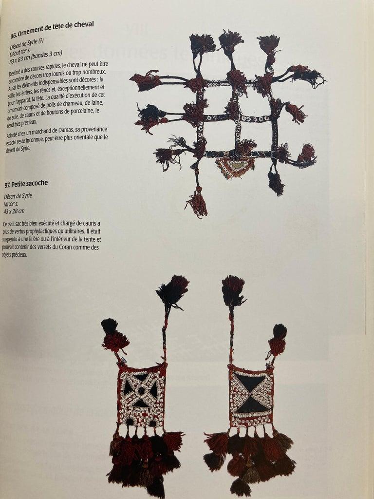 Paper Over the Desert Au Fil du Désert Textiles from the Nomadic Desert Book For Sale