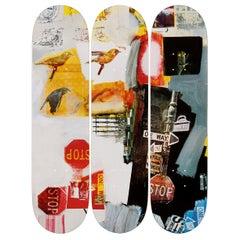 Overdrive Skateboard Decks after Robert Rauschenberg