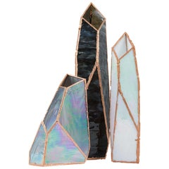 OverNight Vases, Unique Glass and Copper Mixed Colored Vases by Odd Matter
