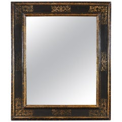 Overscale Late 19th Century Italian Painted Mirror