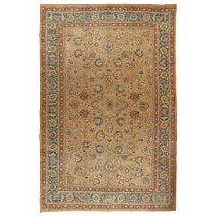 Oversize Antique Persian Meshad Rug, circa 1900 12' x 18'3