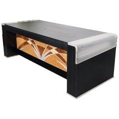 Oversize Large Important Vladimir Kagan Art Deco Executive Desk