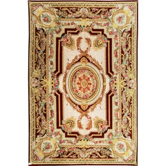 Oversize Renaissance French Style Savonnerie Rug Carpet