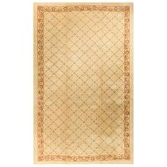 "Oversize Vintage Spanish Rug Carpet 12'1"" x 21'3""."