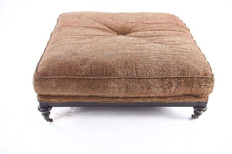 William IV Oversize William iv Style Ottoman For Sale