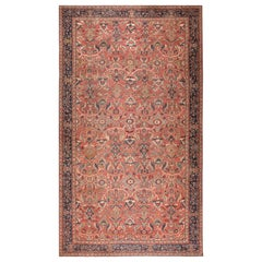Oversized Antique Persian Sultanabad Rug. Size: 17 ft. 6 in x 31 ft. 2 in