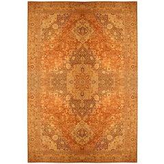 "Oversized Antique Persian Tabriz Haji Jalili Carpet. Size: 21' 2"" x 32' 3"""