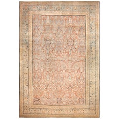 Oversized Antique Tabriz Haji Jalili Persian Rug. Size: 14 ft x 21 ft