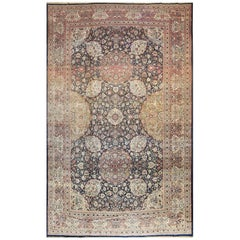 Oversized Antique Tehran Persian Carpet. Size: 14 ft 3 in x 22 ft 3 in