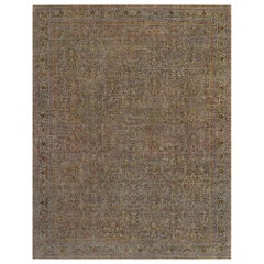Oversized Antique Turkish Sivas Rug
