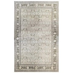 Doris Leslie Blau Collection Oversized Oushak Rug in Beige, Brown, and Gray