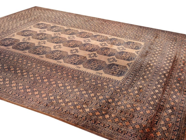 Oversized Ersari Tribal Turkoman Rug For Sale 5