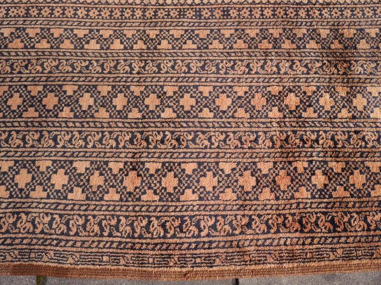 Oversized Ersari Tribal Turkoman Rug For Sale 6