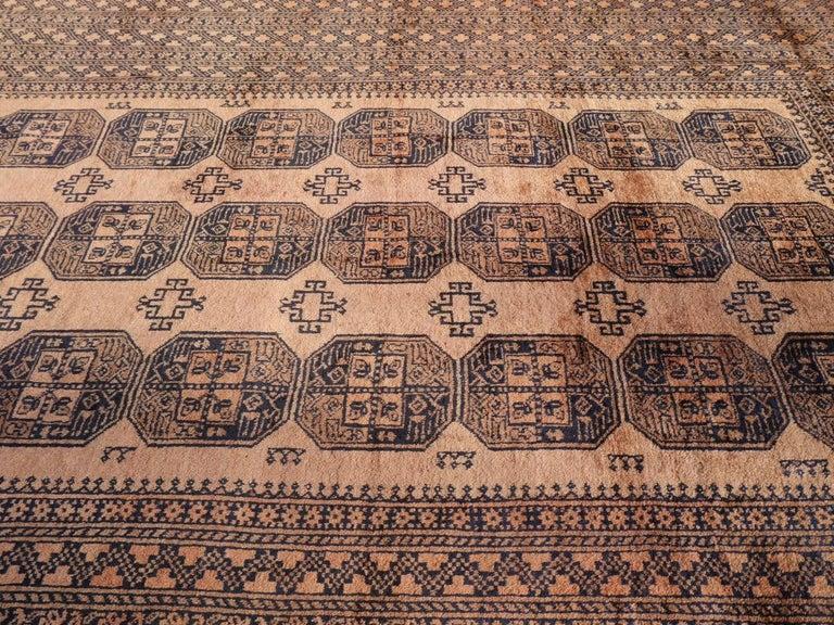 Oversized Ersari Tribal Turkoman Rug For Sale 7