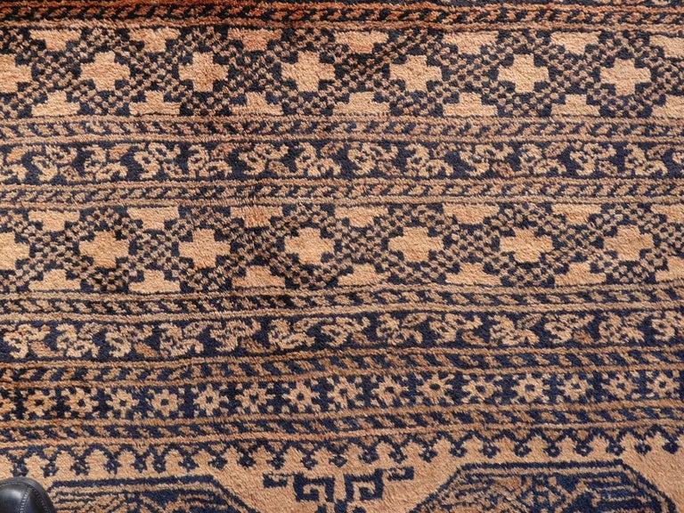 Oversized Ersari Tribal Turkoman Rug For Sale 8