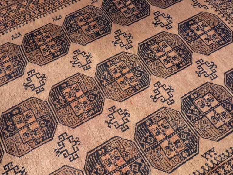 Oversized Ersari Tribal Turkoman Rug In Good Condition For Sale In Lohr, Bavaria, DE