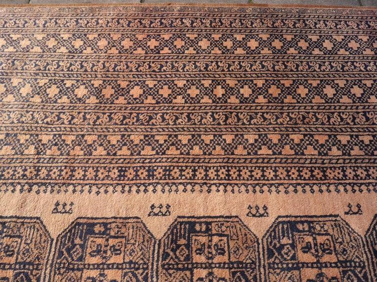 20th Century Oversized Ersari Tribal Turkoman Rug For Sale