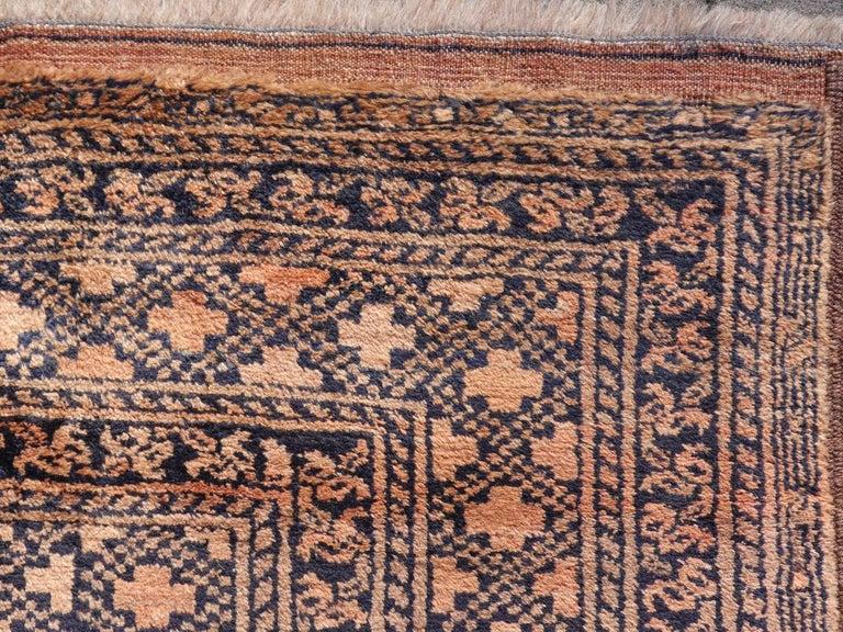 Wool Oversized Ersari Tribal Turkoman Rug For Sale