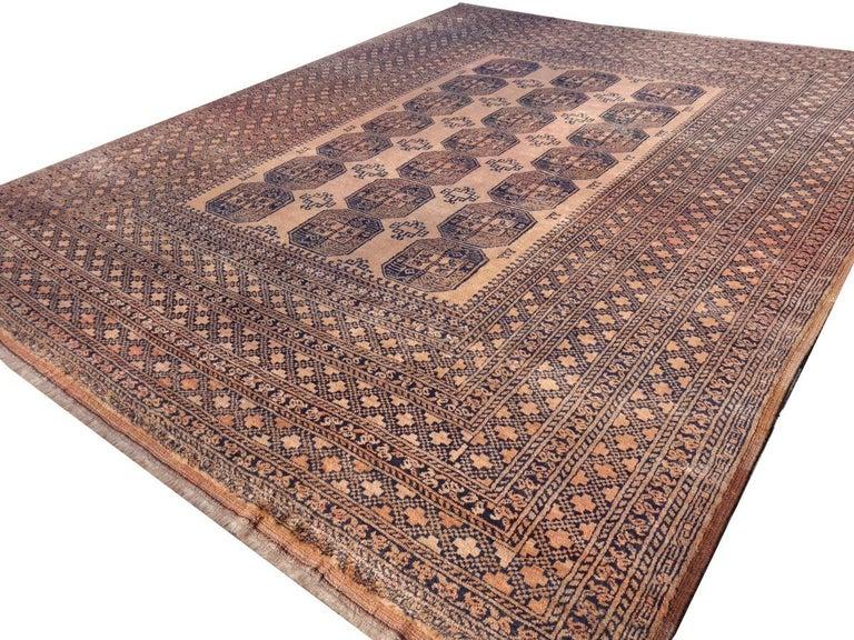 Oversized Ersari Tribal Turkoman Rug For Sale 2