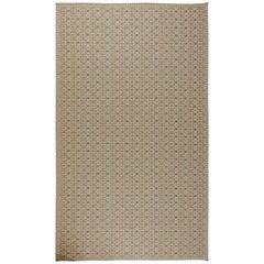 Oversized Flat-Weave Rug
