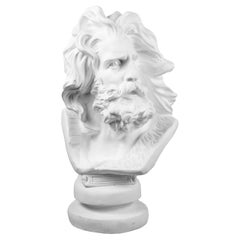 Oversized Classical Male Figure  Library Sculpture