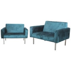 Oversized Pair George Nelson Chairs for Miller, circa 1965