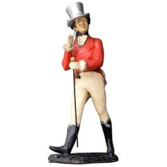 Oversized Papier Mâché Johnny Walker Whisky Promotional Display Figure