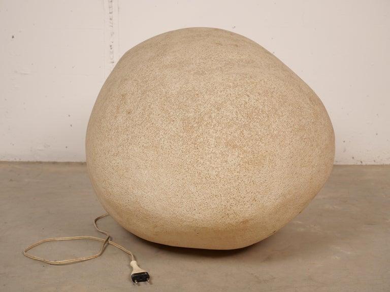 Modern Oversized Rock Lamp