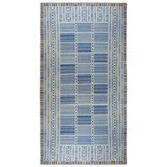 Oversized Swedish Flat-Weave Rug